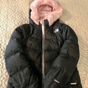 The North Face Girls Down Coat Sz 5
